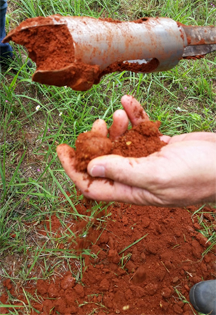 Musing about marsala do archaeologists have a color of for South carolina soil