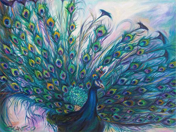 Famous Artist Colourful Landscapes Painting